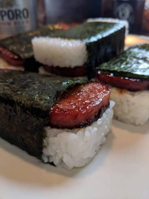 Spam Musubi Inspired Through Food