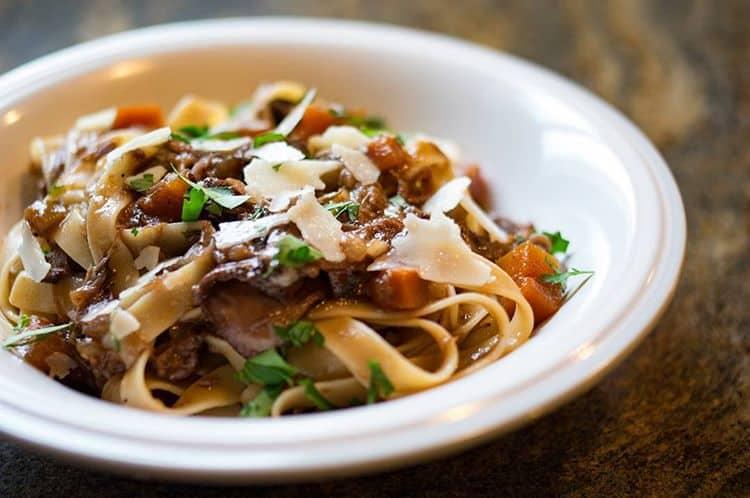Short Rib Ragu with Tagliatelle Pasta