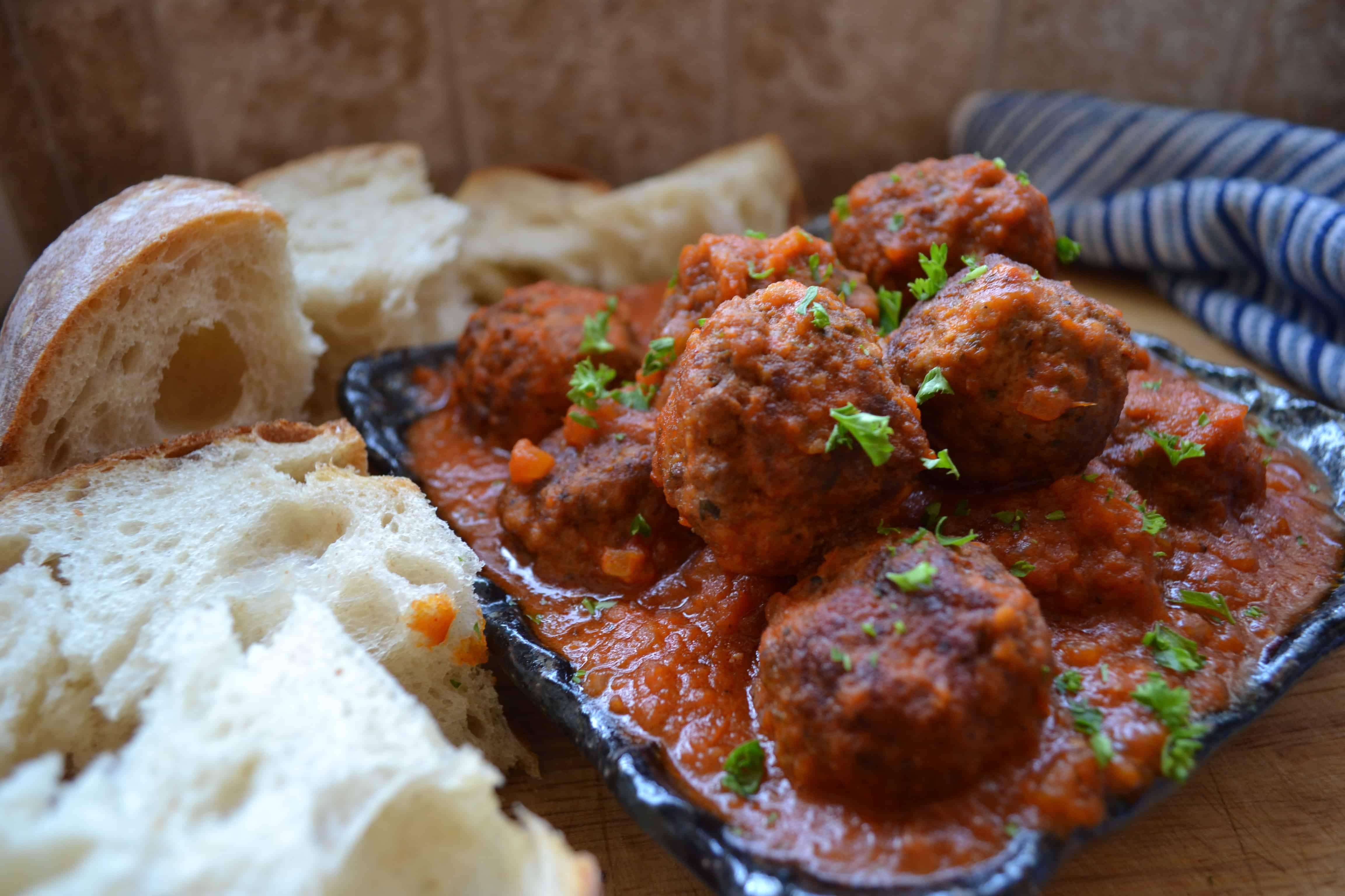 Tapas Spanish Meatballs (Albondigas)