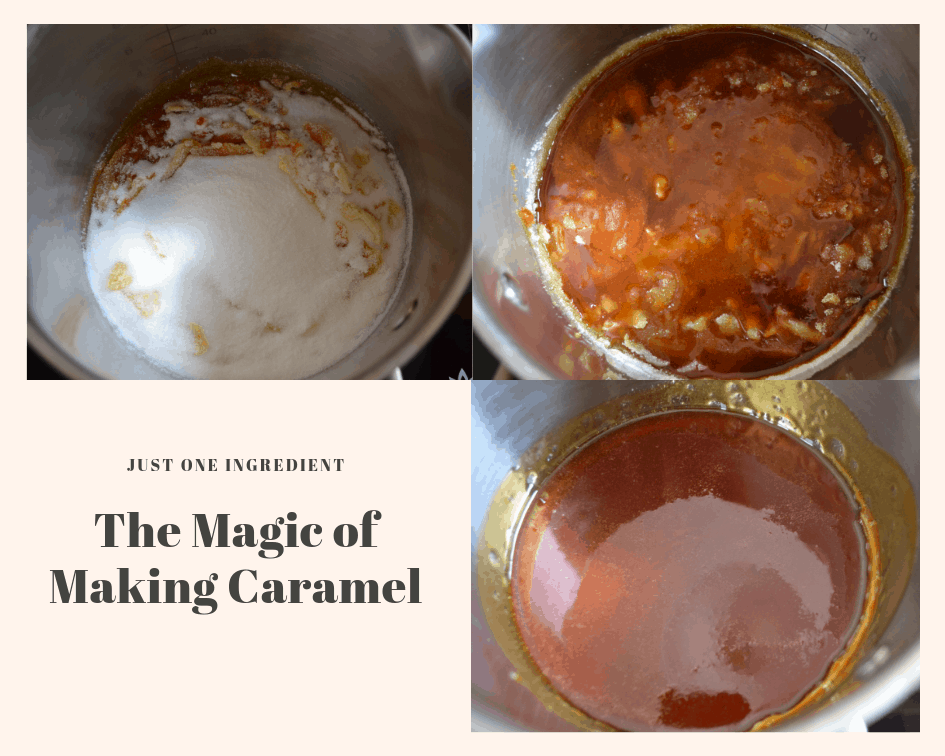 The Magic of Making Caramel Steps