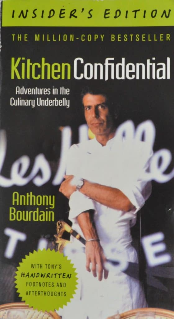 Favorite Cookbooks: Kitchen Confidential