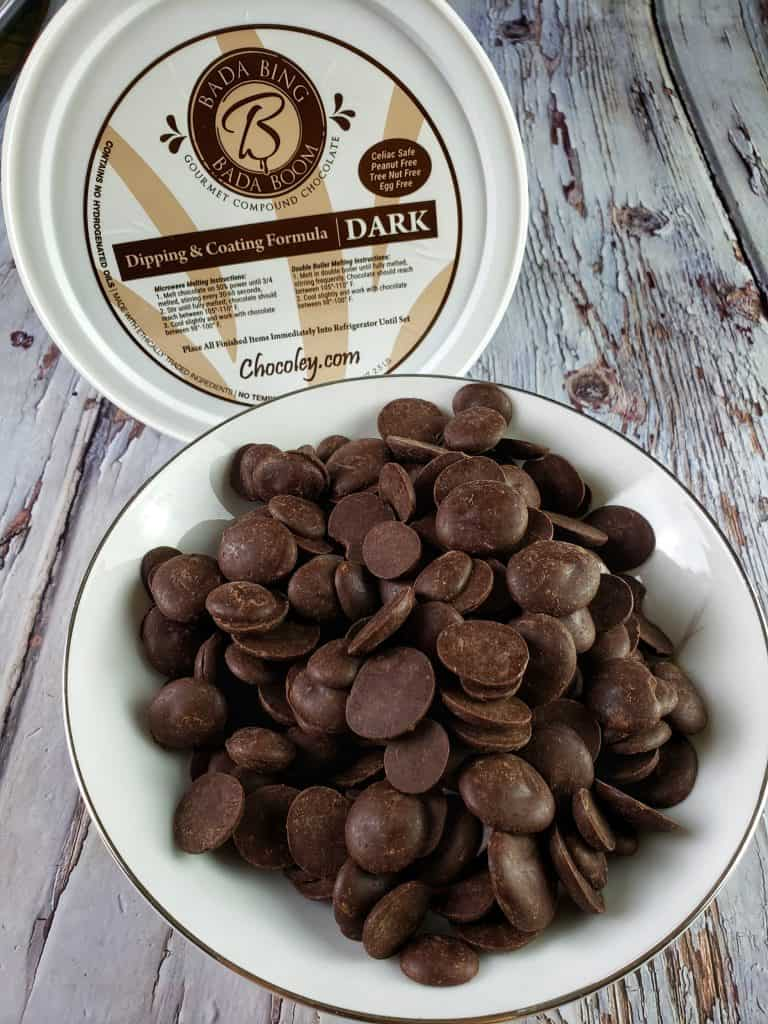 Bada Bing Bada Boom Dipping & Coating Gourmet Compound Dark Chocolate