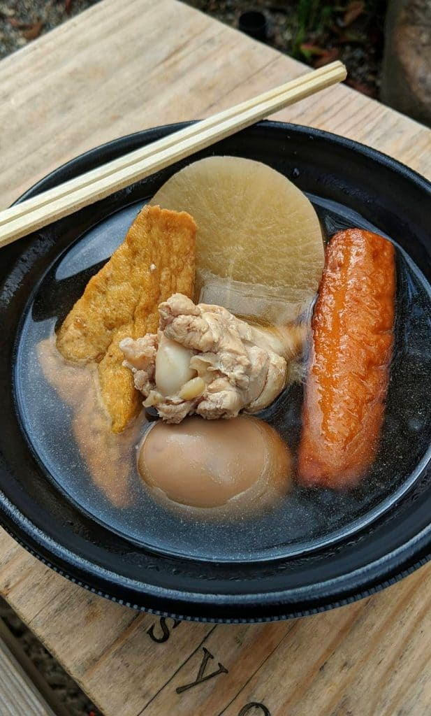 Oden from Nara Park stall