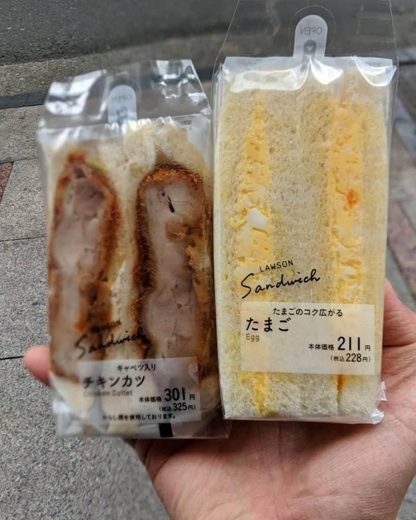 Lawson Egg Sandwich