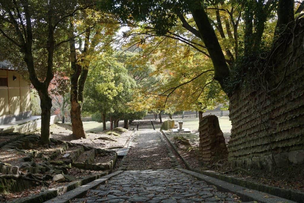Nara Araike Park path looking back